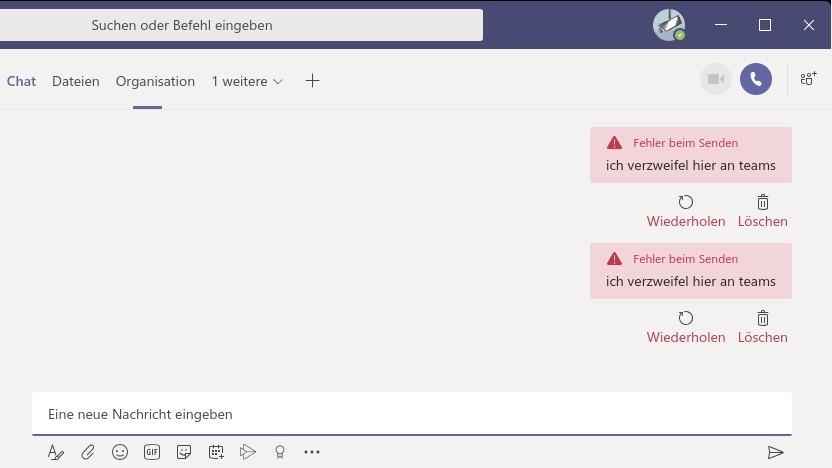 Zum Verzweifeln: Microsofts Kollaborationssoftware Teams