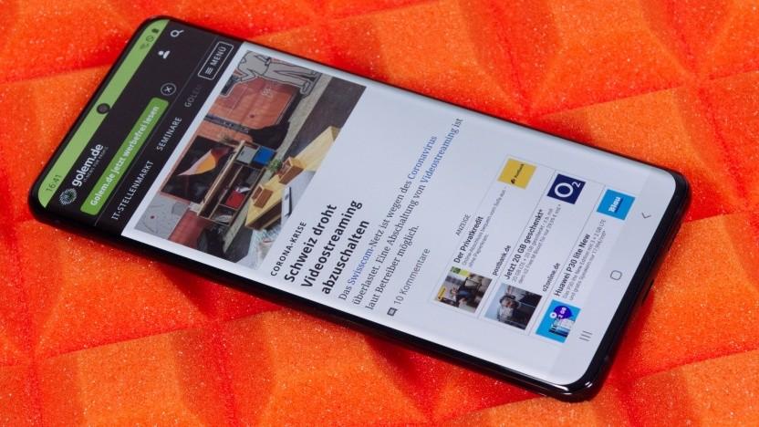 Das Galaxy S20 Ultra von Samsung (Video)