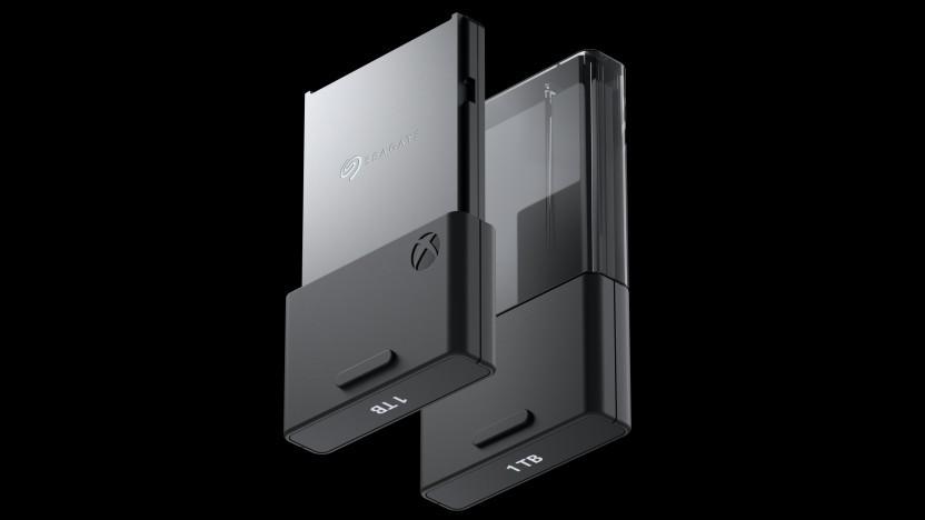 Artwork der externen SSDs für die Xbox Series X