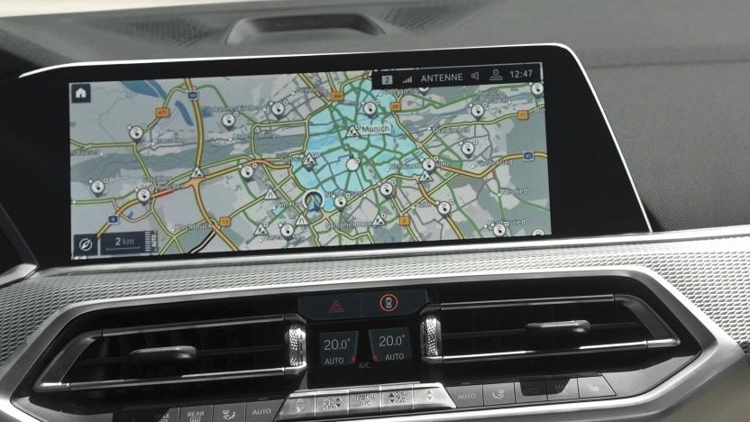 In den E-Drive-Zonen wird der Elektroantrieb automatisch aktiviert.