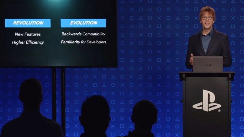 Mark Cerny stellt die Hardware der Playstation 5 vor.