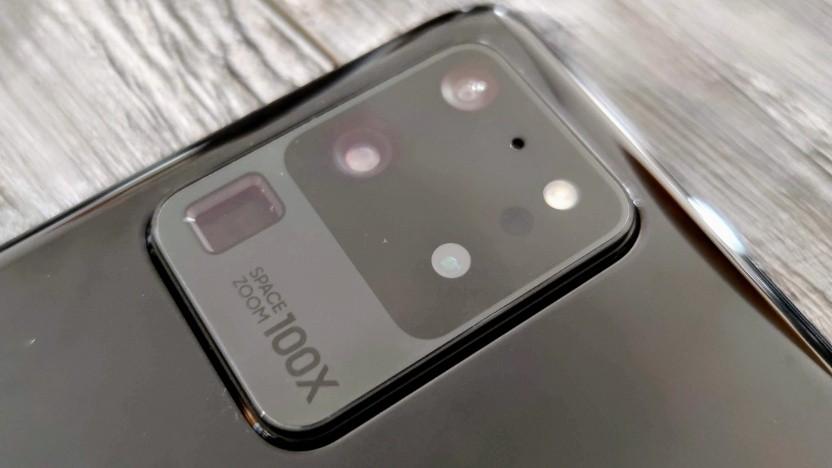Das Kameramodul des Galaxy S20 Ultra von Samsung