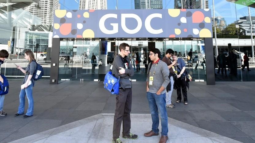 Eine der frühren GDC in San Francisco