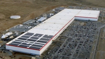 Tesla Gigafactory 1 im Dezember 2019
