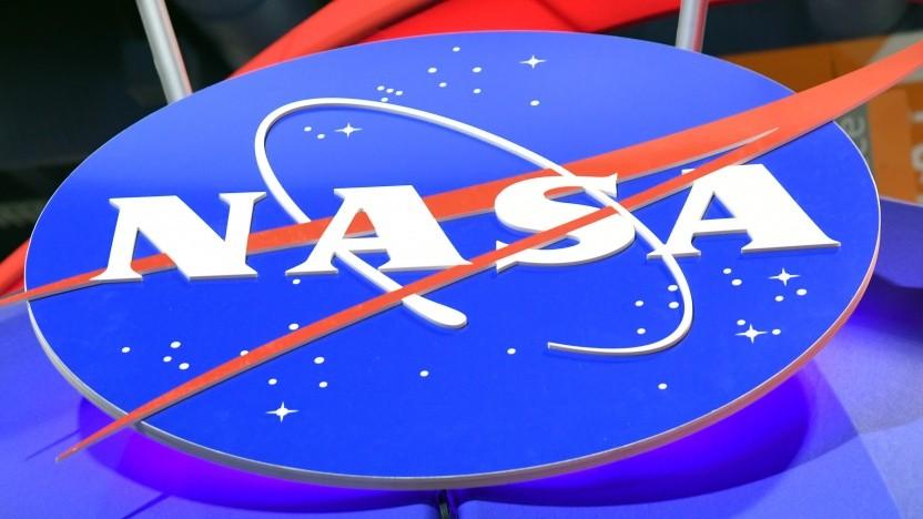 Nasa-Logo auf der CES 2018