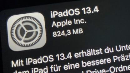 iPadOS 13.4 bietet Multitoch per Maus und Trackpad.