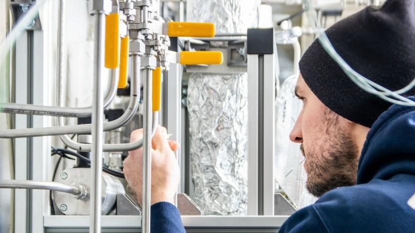 Integrierte Versuchsanlage zur CO2-Reduktion: Beitrag zur Lösung des Klimaproblems und Baustein einer postfossilen Rohstoffversorgung
