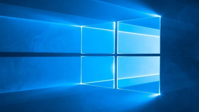 Logo von Windows 10