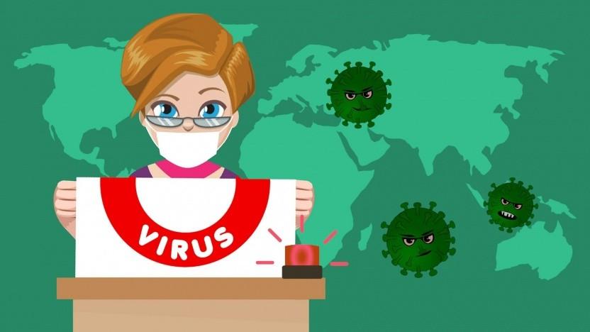 Schadsoftware statt Vireninfos der WHO