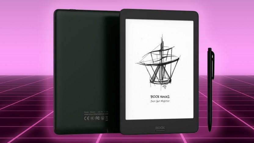 Das Boox Nova 2 hat Stift und Touchscreen.