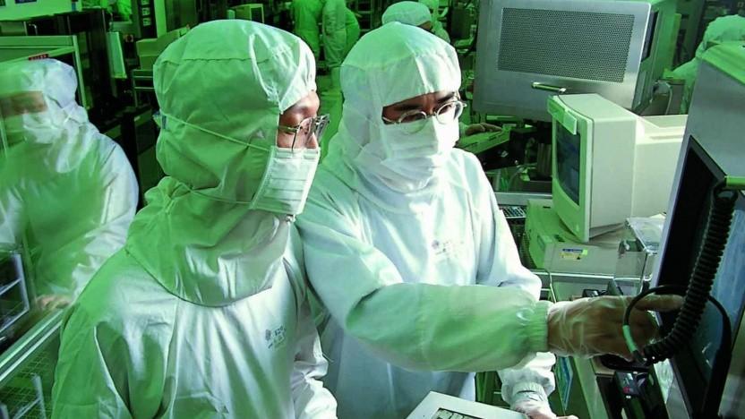 In einer TSMC-Fabrik