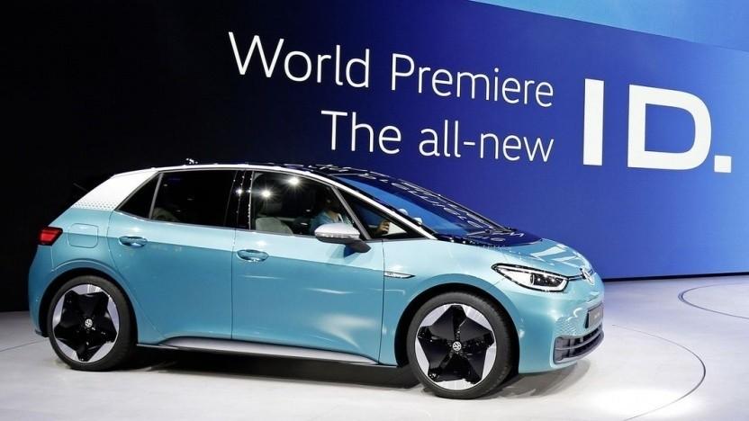 Elektroauto VW ID.3: Auslieferung voraussichtlich mit eingeschänkter Software