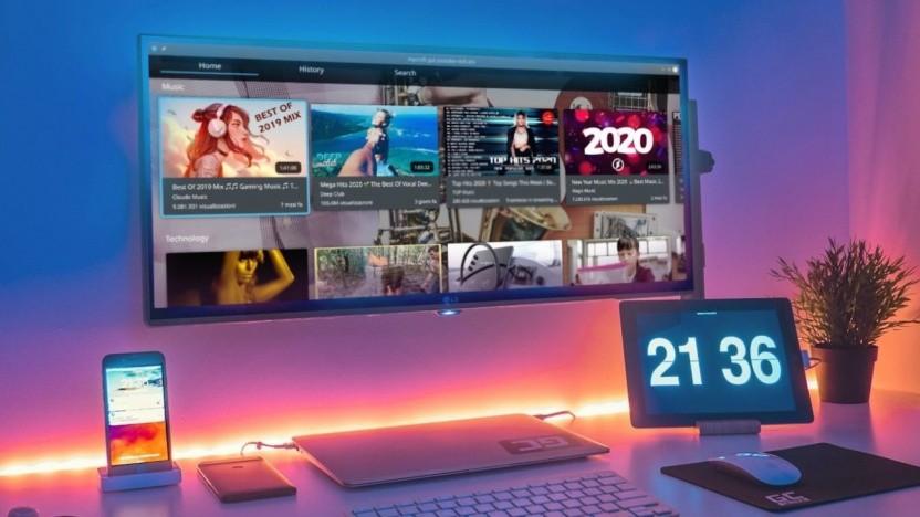 KDE Plasma läuft auf vielen Geräten - jetzt unterstützt es auch Fernseher.