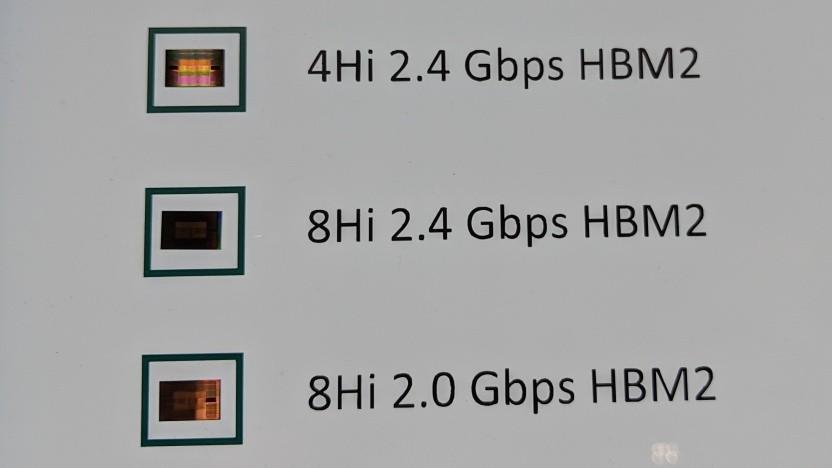 Ältere HBM2-Stacks von SK Hynix