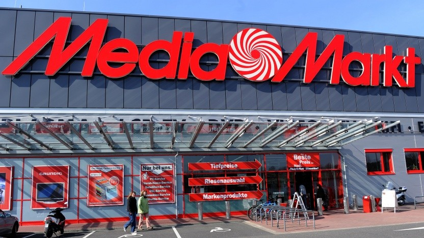 Eine Media-Markt-Filiale in Düsseldorf