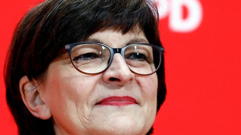SPD-Chefin Esken warnt vor sinnlosem Einsatz von Handytracking.