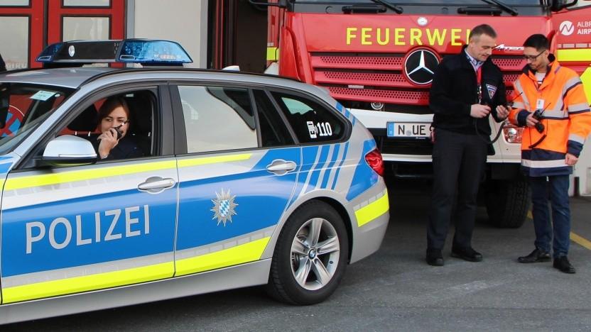 Die Flughafen-Rettungsdienste am Airport Nürnberg