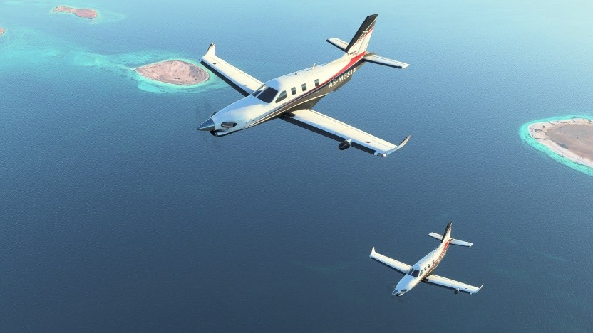 Artwork des MS Flight Simulator