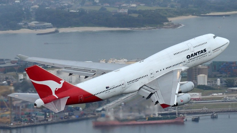 Boeing 747 von Qantas: keine Chance gegen neuere, kleinere Langstreckenflugzeuge