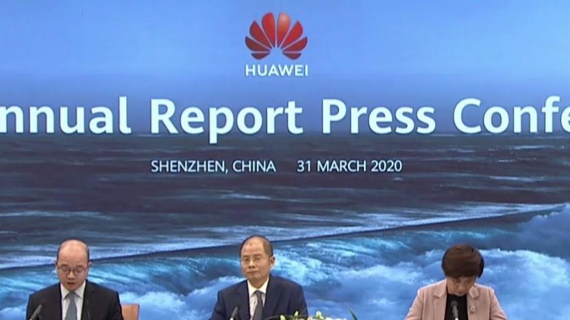 Die Huawei-Videokonferenz zum Geschäftsjahr