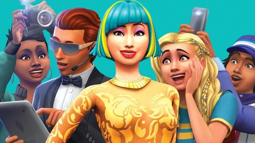 """Artwork der Die-Sims-4-Erweiterung """"Werde berühmt"""""""
