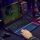 ROG Zephyrus Duo 15: Das zweite Panel im Asus-Gaming-Notebook wird angekippt