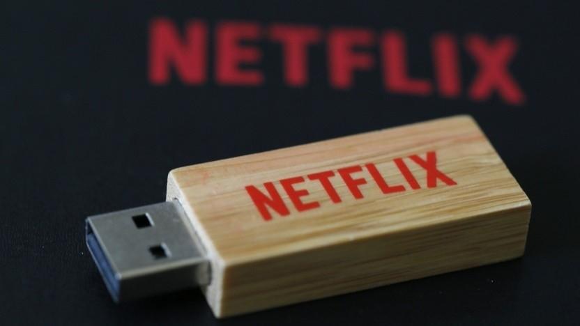 Netflix Film auf USB