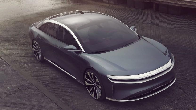 Elektroauto Lucid Air: Wichtige Ex-Tesla-Mitarbeiter sind daran beteiligt.