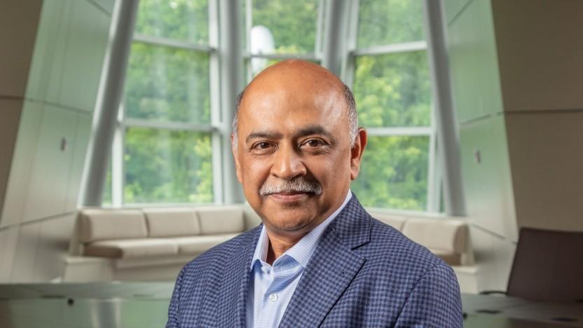 Arvind Krishna ist der neue CEO von IBM.