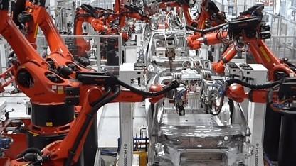 Elektroauto: Tesla verbessert in der Krise Fertigung für das Model Y - Golem.de