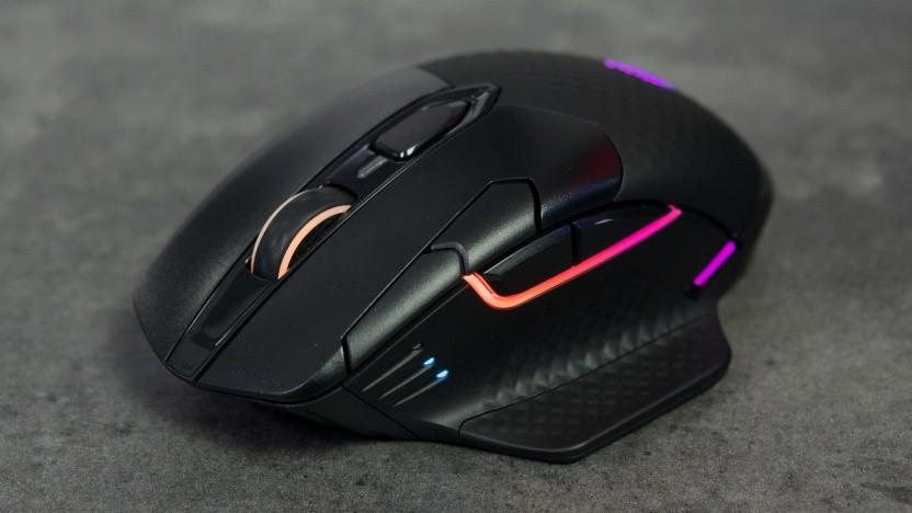 Die Dark Core RGB Pro sieht beleuchtet sehr gut aus.