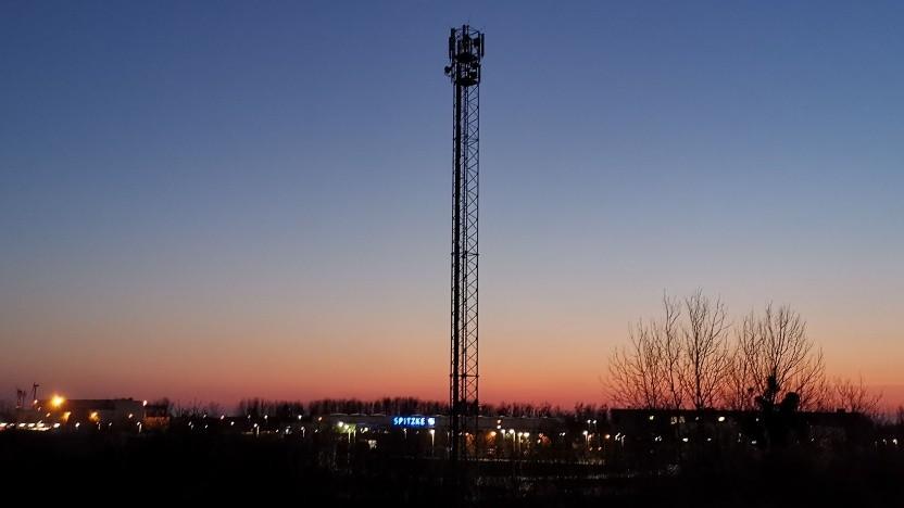 Mobilfunkantenne in Brandenburg