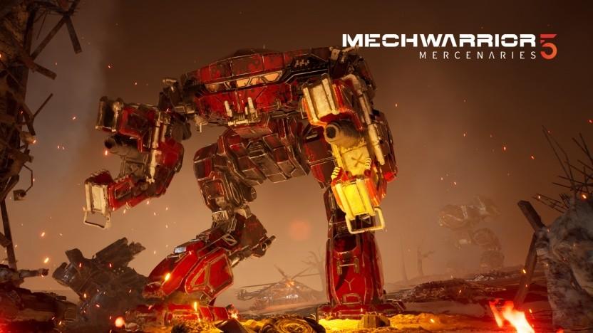 Szene aus Mechwarrior 5