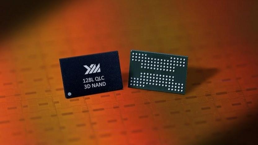 Flash-Speicher mit 128 Lagen und 1,33 TBit Kapazität