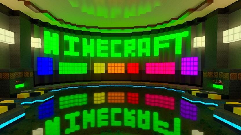Szene aus Minecraft RTX