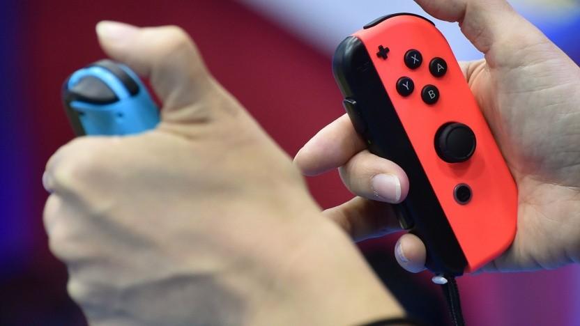 Controller der Nintendo Switch