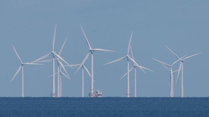 Offshore-Windpark: Die Abrissarbeiten sind nicht trivial.