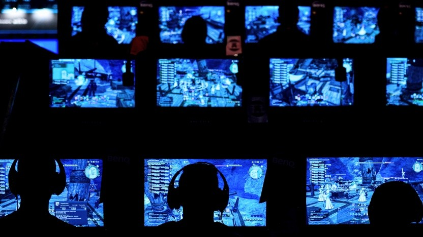 Besucher der Gamescom 2015