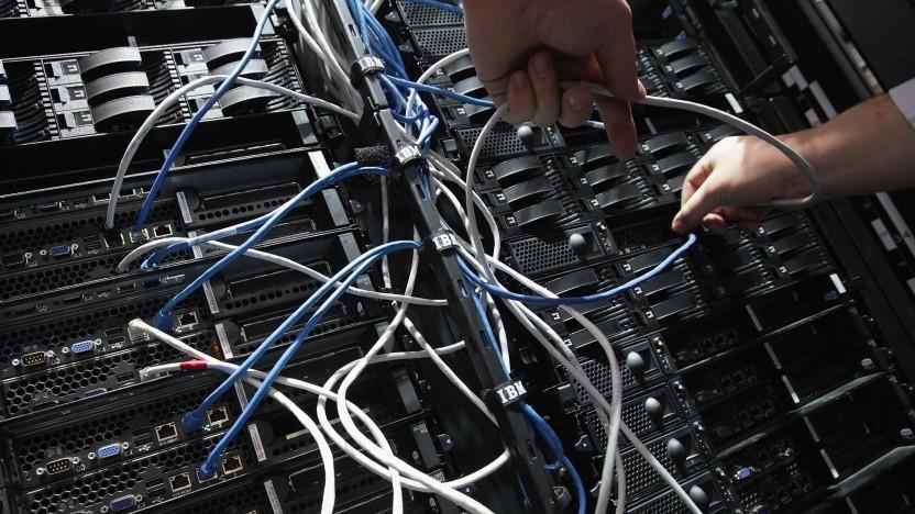 IBM-Server auf der Cebit 2012