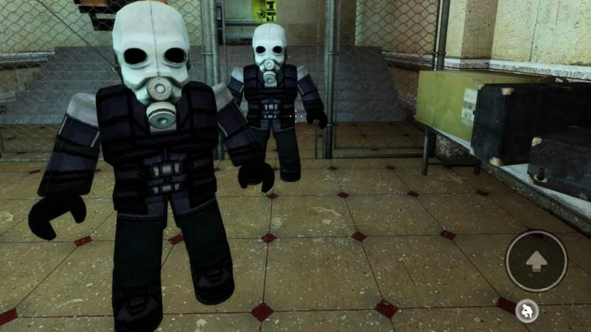 Auch einen (so gut wie sicher nicht lizenzierten) Nachbau von Half-Life 2 gibt es auf Roblox.