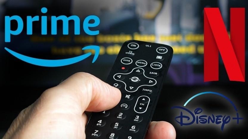 Amazon, Disney und Netflix bieten Streams weiterhin mit verringerter Bitrate.