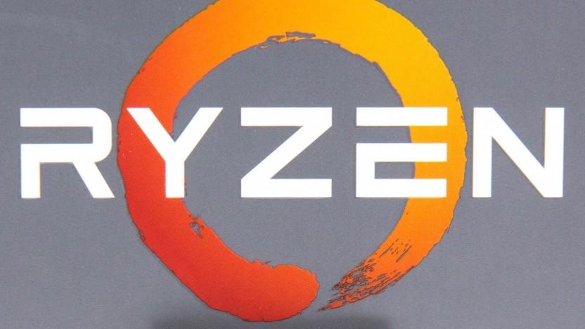 Ryzen-Logo auf einer Boxed-Packung