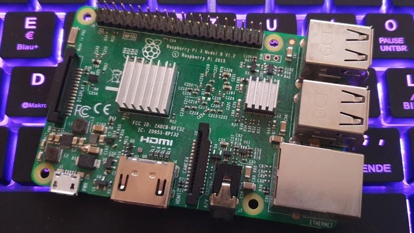 Der Raspberry Pi ist derzeit recht beliebt.