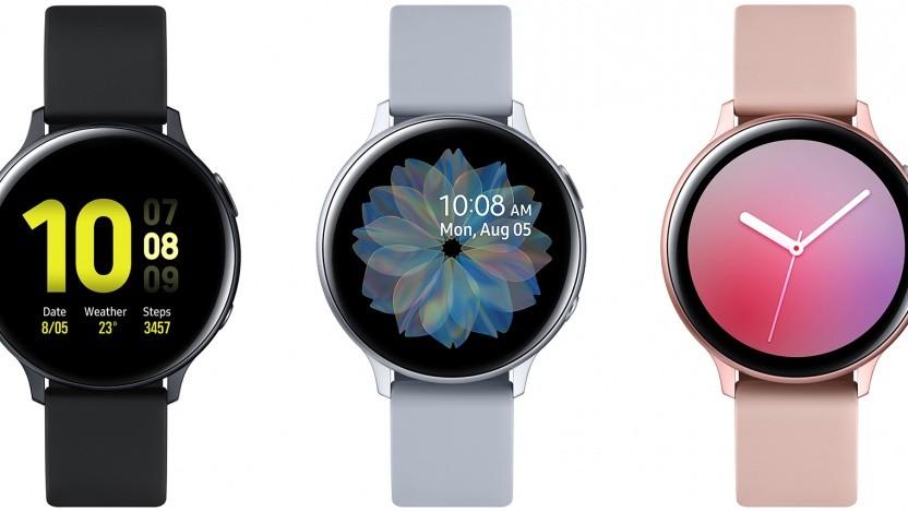 Die Galaxy Watch Active 2 von Samsung
