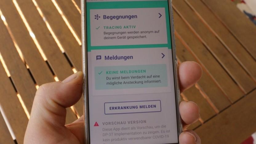 Von der DP-3T-App gibt es bereits eine Testversion auf Github.