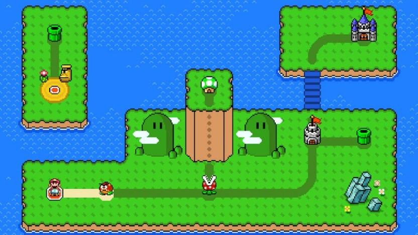 Artwork von Super Mario Maker 2