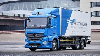 Elektro-Lkw Mercedes eActros