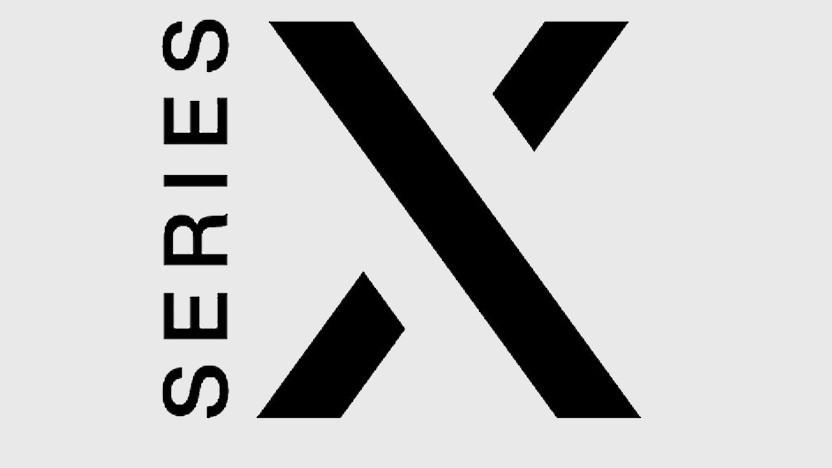 Beim US-Patentamt eingereichtes Series-X-Logo