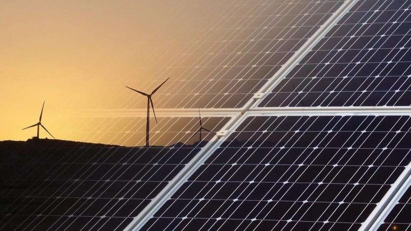 Windkraft und Solarenergie sind für Google wichtig.