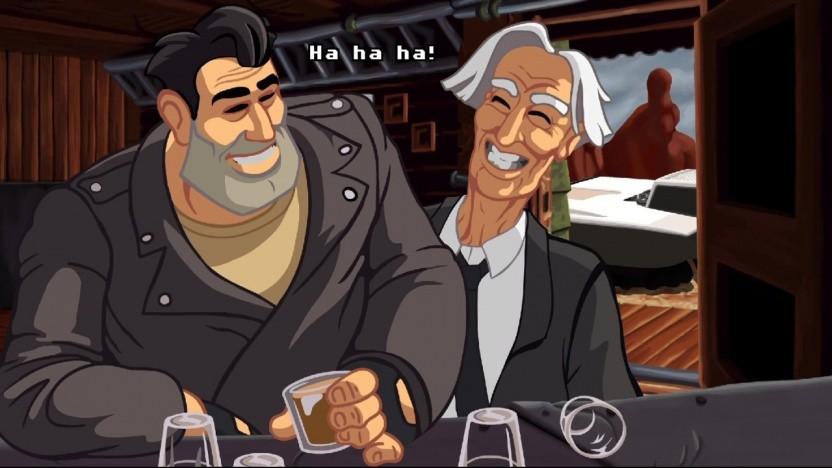 Ben Throttle (links) ist der Protagonist des Spiels.